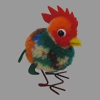 Steiff Woolen Miniature Rooster