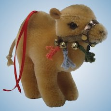Steiff Camel Christmas Ornament With IDs