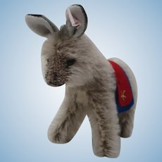 Steiff Donkey Christmas Ornament With IDs