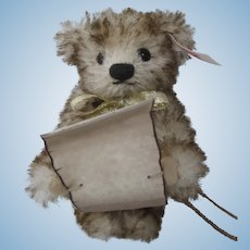 Steiff Teddy Bear Christmas Caroler Ornament With IDs