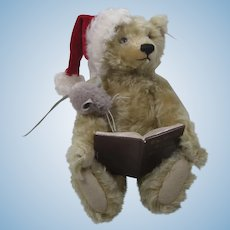 Steiff Night Before Christmas Teddy Bear and Mouse With IDs