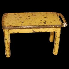 Kilgore Cast Iron Table for Kitchen Doll House Furniture