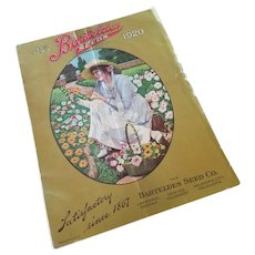 1920 Barteldes Seeds Lithograph Catalog Book Booklet