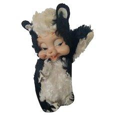 Rushton Stinky Skunk Rubber Face Plush Stuffed Animal