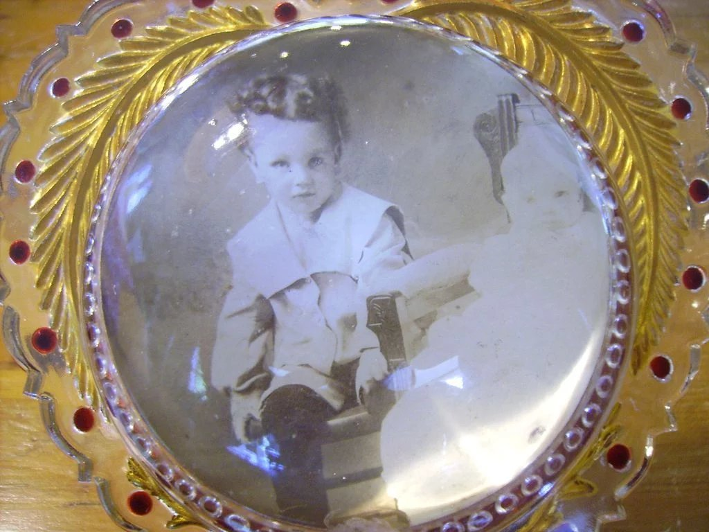 Reverse carved painted goofus glass bubble picture frame glass bubble picture frame click to expand jeuxipadfo Image collections