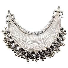 Rare Vintage Indonesian Silver Collar