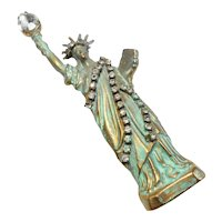 Marla Buck Iconic Statue of Liberty Brooch circa 1980