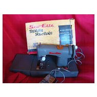 1950 Vintage Sew-ette Battery Operated Child's Sewing Machine