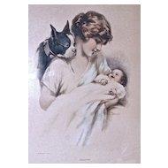 """""""JEALOUSY"""" by Doench Vintage Print"""