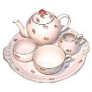 CHINTZ Breakfast/Tea Set on Tray