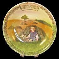 'LITTLE BOY BLUE' - Royal Bayreuth Child's Cereal Bowl
