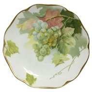 """ROSENTHAL """"GRAPES""""  -  Cabinet Plate Hand Painted by Pierien"""