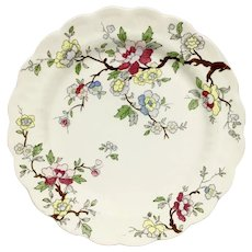 "BOOTHS ""Chinese Tree"" Cabinet Plate - Made in England"