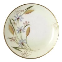 """PICKARD for ROSENTHAL """"Wheat"""" -  Hand Painted Cabinet Plate"""