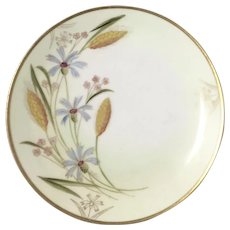 "PICKARD for ROSENTHAL ""Wheat"" -  Hand Painted Cabinet Plate"