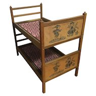 DOLL BUNK BEDS - 1930s Stackable Twin Beds for Stuffed Animals, Dolls....