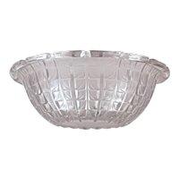 """R. LALIQUE """"ACACIAS"""" No. 3 Opalescent Bowl (Marcilhac No. 3250) 1925 - 1945"""