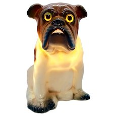 GERMAN BULLDOG - Rosenthal Aroma Art Deco Perfume Lamp/Night Light