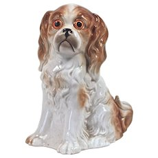SPANIEL Perfume Lamp - German Rosenthal - Post 1920