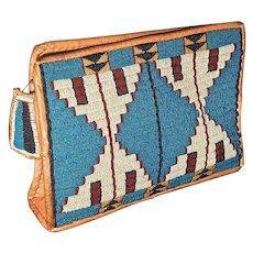 "Northern Plains Native American  Beaded ""Possible Bag""  - Cheyenne - Post 1930"