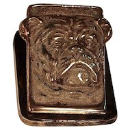 JUDD ENGLISH BULLDOG WALL BILL CLIP - PAPER LETTER HOLDER - PAPERWEIGHT