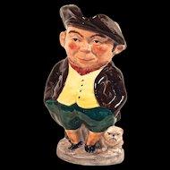 """SPUD"" Toby Jug - Staffordshire Fine Ceramics England - Hand Painted"