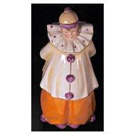 POIROT PERFUME - Marked 7417 Germany - Porcelain Clown