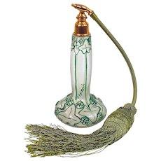 "JULIAN VIARD ""Paradis"" Art Nouveau  Perfume Atomizer - Circa 1910"