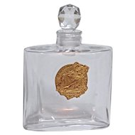 LA PARFUM IDEAL  - Baccarat Crystalworks Perfume Bottle.for Houbigant - 1900
