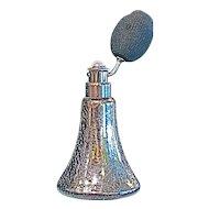 DeVILBISS  1920s Deco Mercury Glass Perfume Atomizer