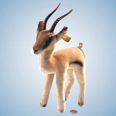 YUKU - Steiff Springbock Pronghorn Antelope