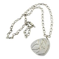 Henry Steig Pendant on Mexican Sterling Silver Chain