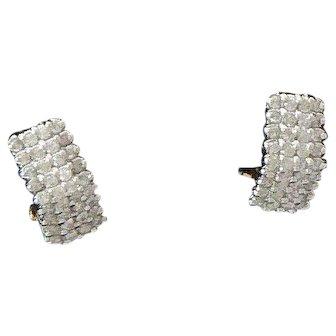 Diamond Earrings in 14K Gold