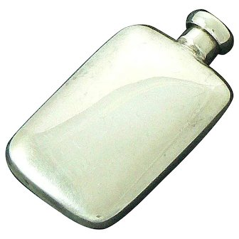 Tiffany & Co. Pocket Perfume Flask Sterling Silver