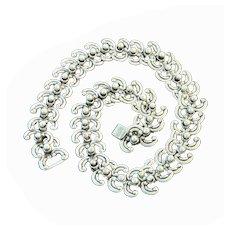 Los Castillo Sterling Silver Mexican Necklace