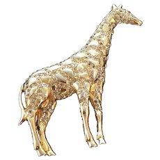 Coro Giant Giraffe Pin Book Piece