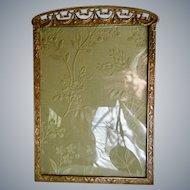 Antique Edwardian Victorian Gilt Bronze Picture Frame Marshall Field