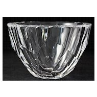 "Orrefors ""Zenith"" Pattern Crystal Bowl"