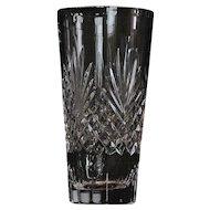 """Wedgwood """"Majesty"""" Pattern Crystal Vase"""