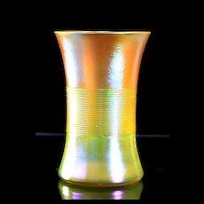 Tiffany Favrile Flemish Style Goblet