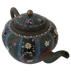 Cloisonné Teapot..