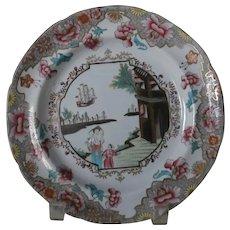 19th Century Spode Stone China Plate...
