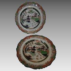 19th Century Ironstone Plates...