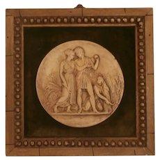 Grand Tour Plaster Medallion...