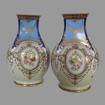 Noritake vases..Circa,1914..