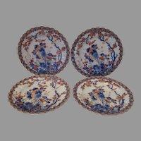 19th Century Imari Style Dessert Plates..