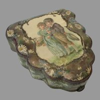 Late 19th Century Celluloid Dresser Box...