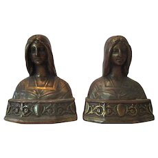 Vintage Beatrice Bookends..