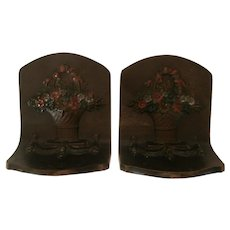 Hubley Cast Iron Bookends..
