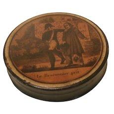 Mid 19th Century French Snuff Box..